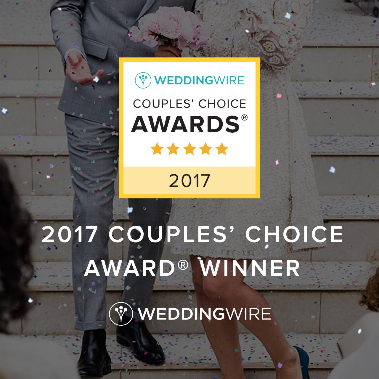 2017 Couples' Choice Award Winner